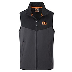 Bear Grylls - Black pepper bg softshell vest