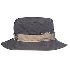 Craghoppers - Dark Grey lightweight insect repelling sun protecting hat