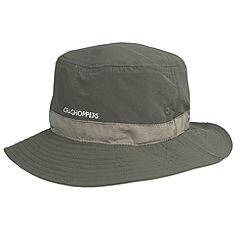 Craghoppers - Dark khaki nosilife sun hat