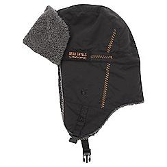 Bear Grylls - Black pepper bear winter explorer hat