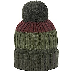 Craghoppers - Dark khaki picton bobble hat