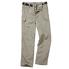 Craghoppers - Beige Water Repelling Kiwi Trousers