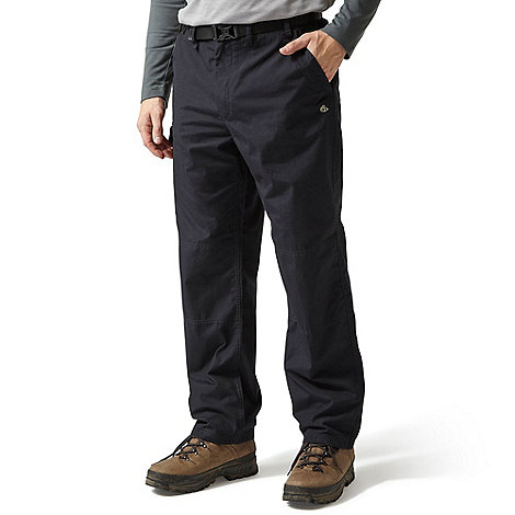 Craghoppers - Navy regular leg length classic walking trousers
