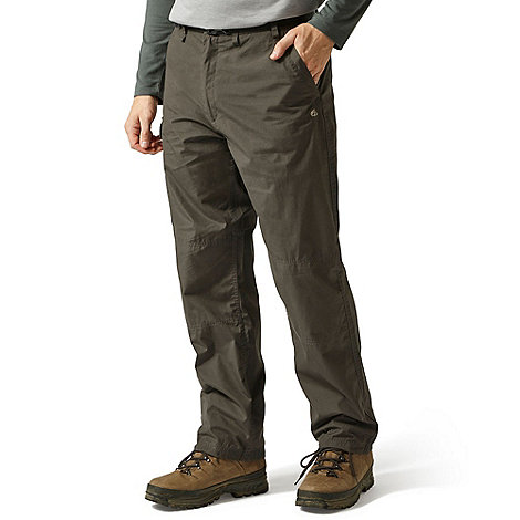 Craghoppers - Brown water repelling Kiwi trousers