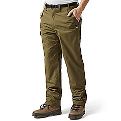 Craghoppers - Dark moss Classic kiwi trousers