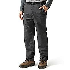 Craghoppers - Black pepper classic kiwi trousers