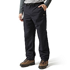 Craghoppers - Navy short leg length classic walking trousers