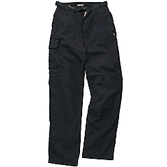 Craghoppers - Dk navy classic kiwi trousers