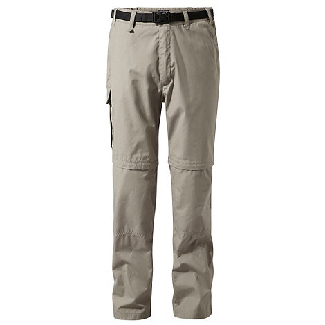 Craghoppers - Beige Water Repelling Kiwi Zip Off Trousers