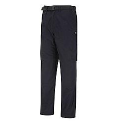 Craghoppers - Dark Blue Water Repelling Kiwi Zip Off Trousers