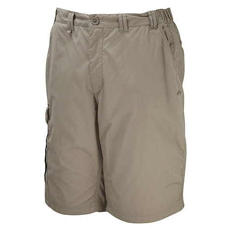Craghoppers - Beige long Kiwi shorts