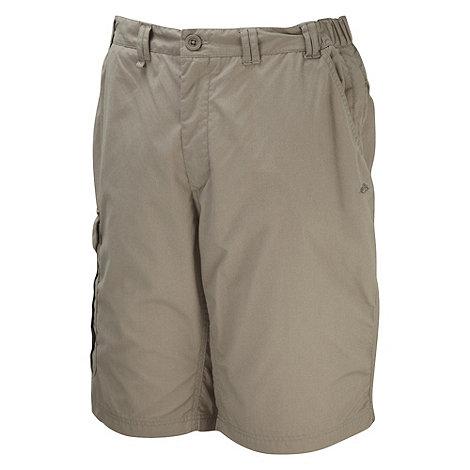 Craghoppers - Beige long Kiwi shorts