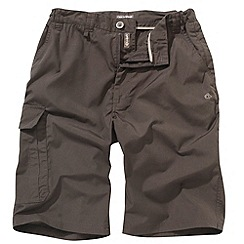 Craghoppers - Brown long Kiwi shorts