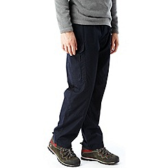 Craghoppers - DK Navy Kiwi weather-resistant insulated winter trousers (long leg)