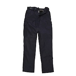 Craghoppers - Dark Navy Kiwi weather-resistant insulated winter trousers (regular leg)
