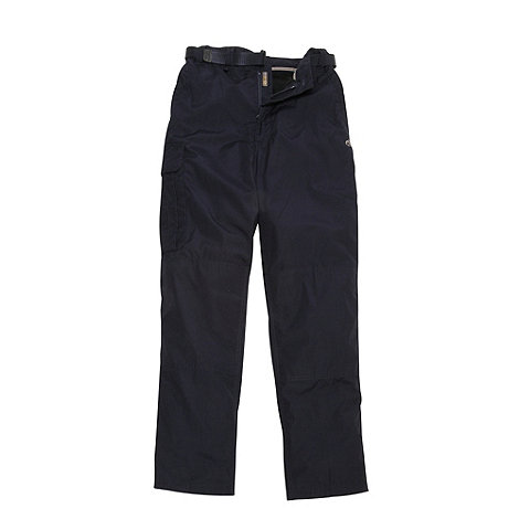 Craghoppers - Dark Navy Kiwi weather-resistant insulated winter trousers (short leg)