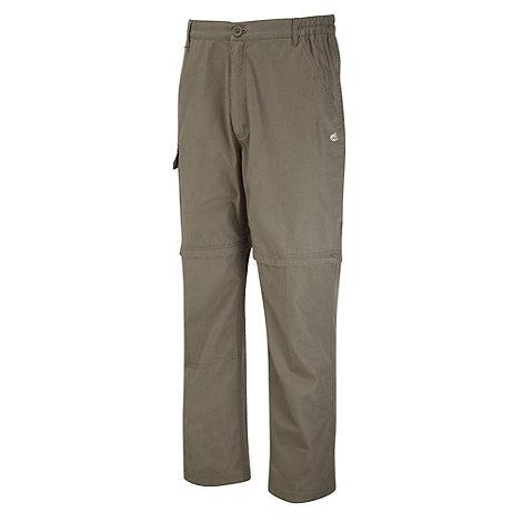 Craghoppers - Light Bark Basecamp Convertible Trousers - Long Length