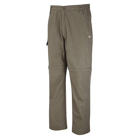 Craghoppers - Light Bark Basecamp Convertible Trousers - Short Length