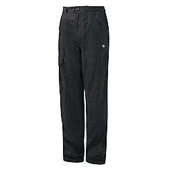 Craghoppers - Black Terrain Trousers - Short Length