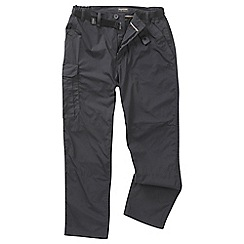 Craghoppers - Black pepper nosilife stretch convertible trousers