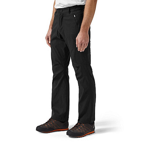 Craghoppers - Black Kiwi Pro Stretch Active Trousers - Long