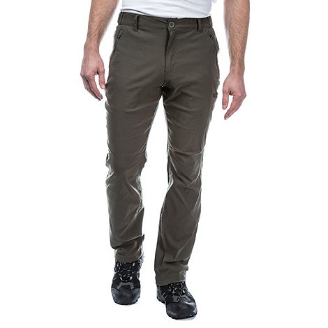 Craghoppers - Dark Khaki Kiwi Pro Active Trousers
