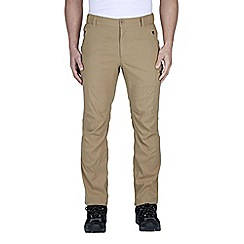 Craghoppers - Taupe kiwi pro active trousers - regular leg