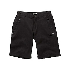 Craghoppers - Black kiwi pro long shorts