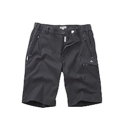 Craghoppers - Dark lead kiwi pro long shorts