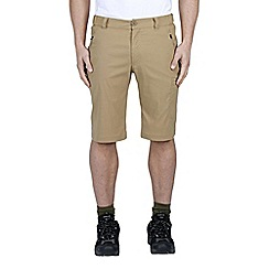 Craghoppers - Taupe kiwi pro long shorts