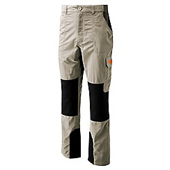 Bear Grylls - Metal / black bear survivor trousers - short leg