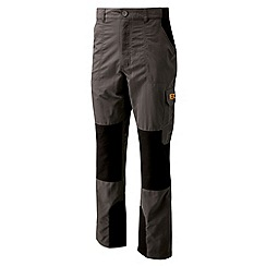 Bear Grylls - Black pepper bear survivor trousers - short leg