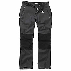 Craghoppers - Dark lead kiwi pro elite trousers - regular leg