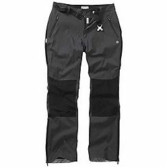 Craghoppers - Dark lead kiwi pro elite trousers - regular leg