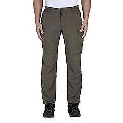 Craghoppers - Olive drab nosilife cargo trousers - regular leg