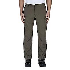 Craghoppers - Olive drab nosilife cargo trousers - regular leg