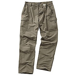 Craghoppers - Pebble nosilife cargo trousers