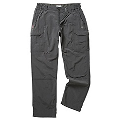 Craghoppers - Black pepper nosilife cargo trousers