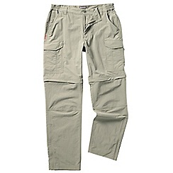 Craghoppers - Pebble nosilife convertible trousers