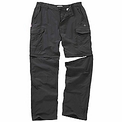 Craghoppers - Black pepper nosilife convertible trousers