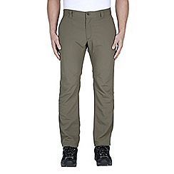 Craghoppers - Olive drab nosilife simba trousers - regular leg