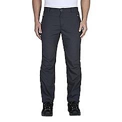 Craghoppers - Dark lead kiwi pro lite trousers - regular leg