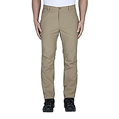 Craghoppers - Taupe kiwi pro lite trousers - regular leg