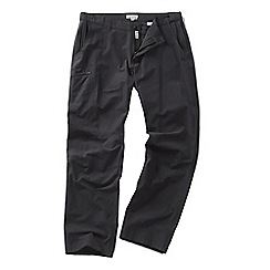 Craghoppers - Black pepper kiwi trek trousers - regular leg