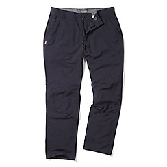 Craghoppers - Dark navy nosilife mercier trousers