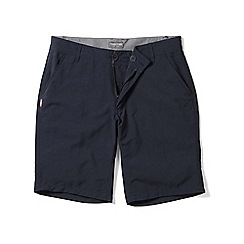 Craghoppers - Dark navy nosilife mercier shorts