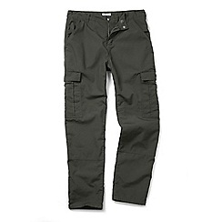 Craghoppers - Dark khaki Mallory trousers
