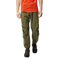 Craghoppers - Dark moss Nosilife elbrus trousers - regular length