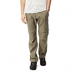 Craghoppers - Pebble Kiwi pro convertible trousers - long length