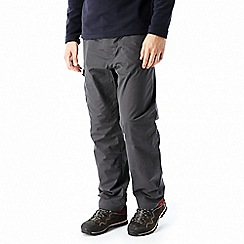 Craghoppers - Grey 'C65' winter trousers - short length